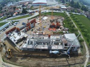 Collège Champier - Construction béton